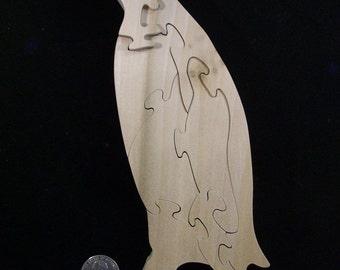 Wooden Penguin Puzzle