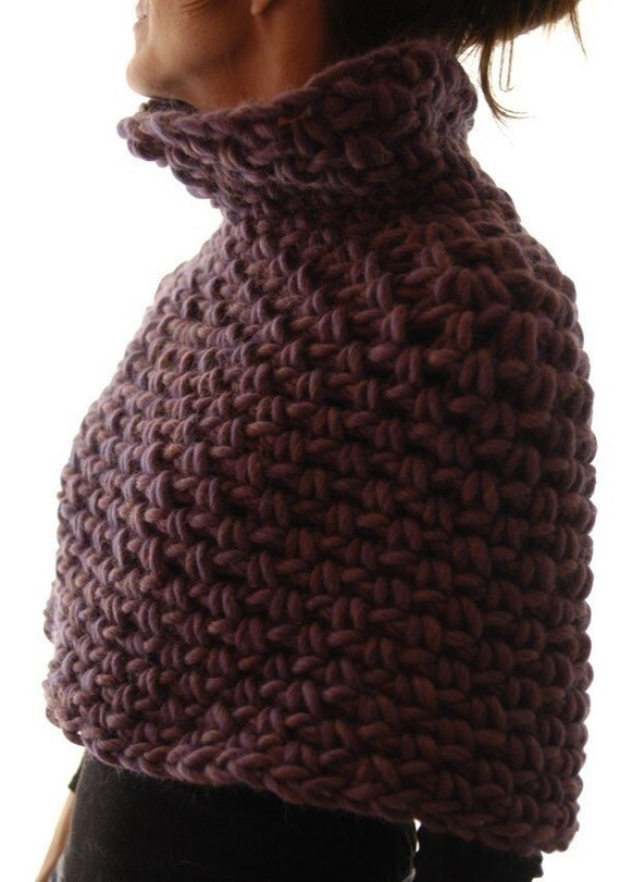 Instructions to make: Magnum Capelet 4 (crochet) PDF crochet pattern