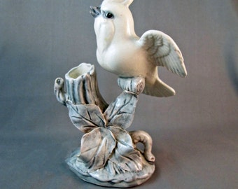 SALE Vintage Bird Spill Vase Wings Spread 25% off at checkout
