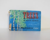vintage book, Trees of North America, pocket field guide