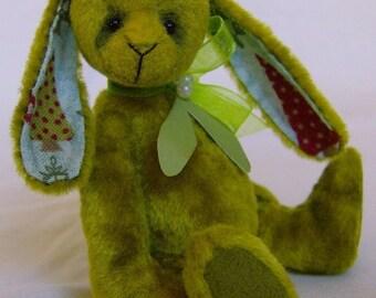 Mistletoe Rabbit Complete sewing kit for a miniature rabbit