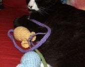 Pair of Mice- Cat Toys