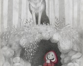 Little Red  Riding Hood  -  large print