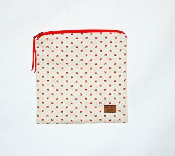 Clearance Reusable Sandwich Bag - Heart Flowers