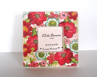 Flower Box Picture Frame