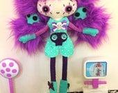 RESERVED Doll horror nurse Coryza