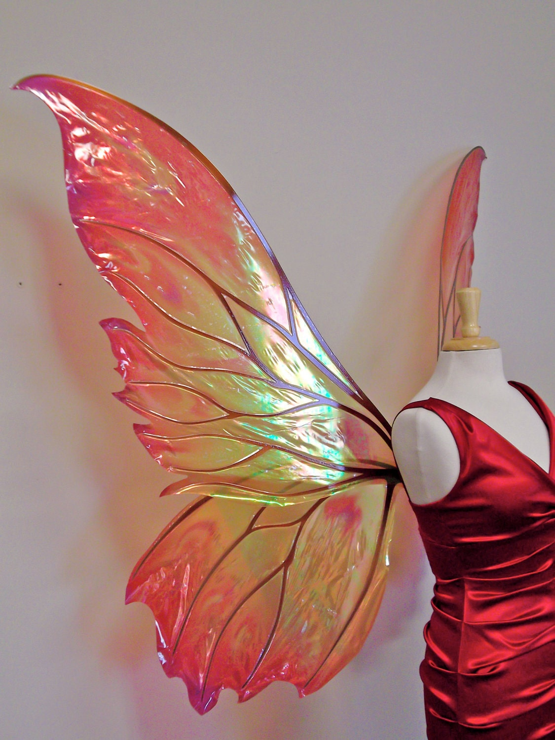 Giant Clarion Painted Fairy Wings In Your Choice By
