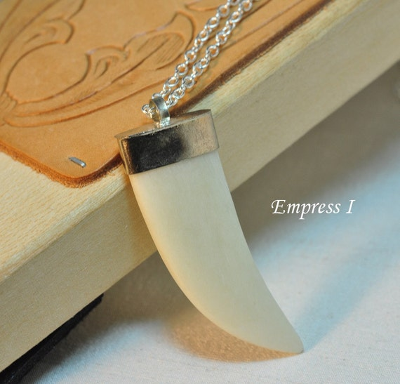 Tribal Tusk Necklace