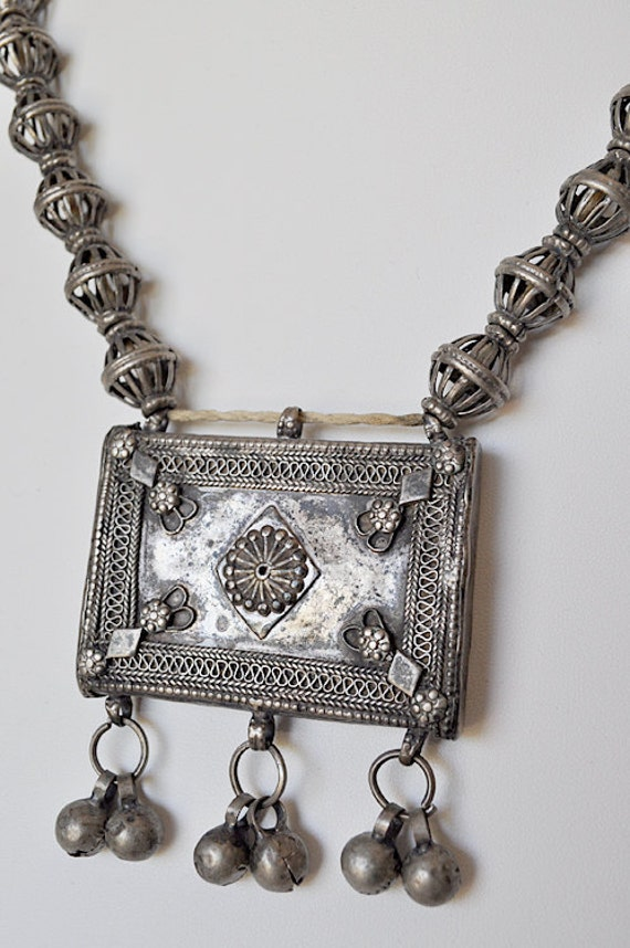 Vintage Bedouin Tribal Necklace