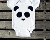 The Hiding Panda Infant Bodysuit