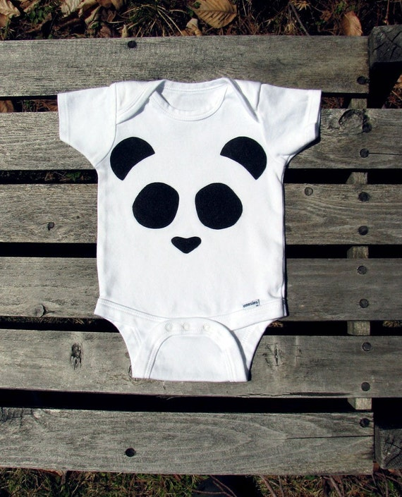 The Hiding Panda Infant Bodysuit