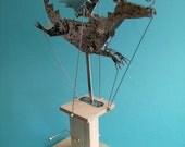 Painted Aluminium Dragon Automata