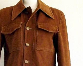 70s field jacket - 1970s work coat  - outdoorsman