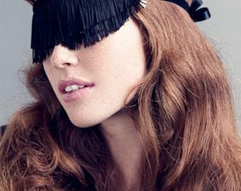 50 Shades Valentine Fringe Blindfold Mask