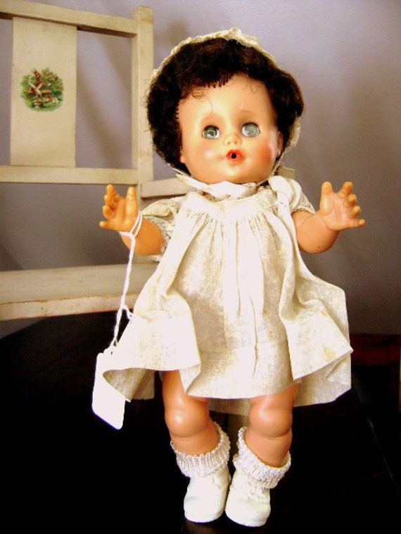 1950 S Eegee Drink And Wet Baby Doll With By Yourgrandmasstash