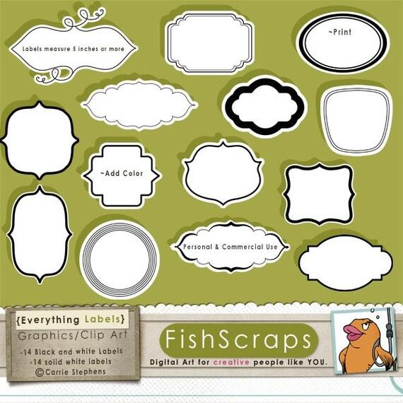 Decorative Designs Clip Art Decorative Label Clip Art