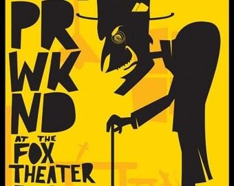 Vampire Weekend Concert Poster