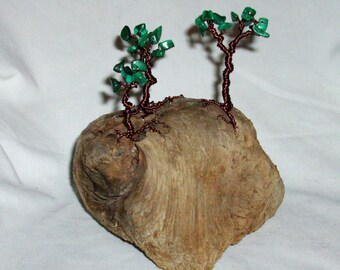 Forest Hill Desk Sculpture - Wire Trees - decor - gift