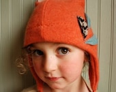 Made to Order//Little Fox Earflap Hat