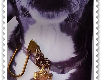 Pet Tag - Barking Bling : Woof Woof, Dog Collar, Doggy Jewelry