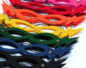Ready to ship - Best selling Hero Mask - Super hero party favors - Childrens Super Hero Mask - choose from 9 colors - Halloween Party Masks