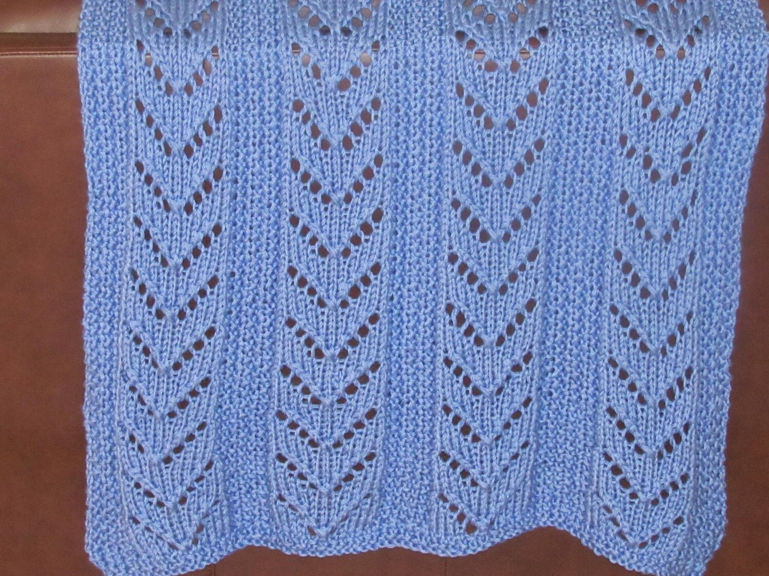 Free Knitting Patterns For Lap Blankets : AFGHAN KNIT special needs lap blanket Hand knitted in