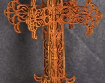 3D Standing Arrow Cross