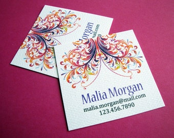 Custom Business Cards, Business Cards - Set of 48