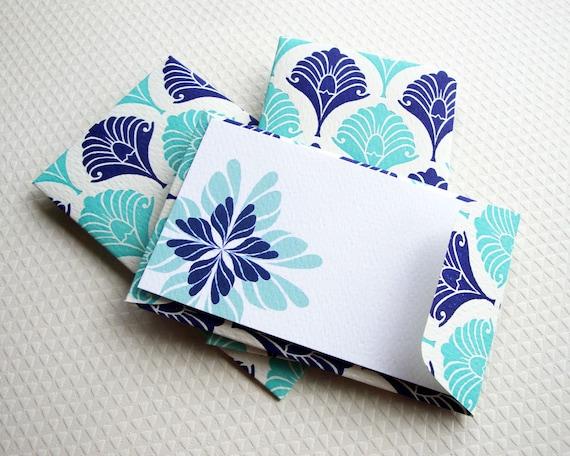 Gift Enclosure Card, Mini Card, Mini Cards and Envelopes, Letterpress, Set of 10