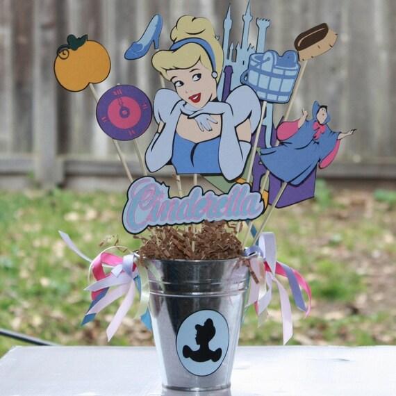 Disney's Princess Cinderella party centerpiece