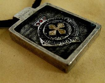 Ancient Scriptures - Necklace