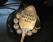 Vintage Silverware Garden Marker Mom Mother's Day