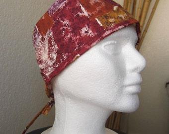 Mediterranean Sun - Traditional Tie-back Surgical Scrub Hat