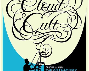 Cloud Cult poster by Shawn Wolfe