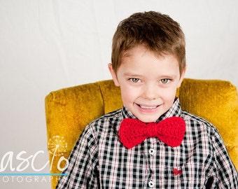 Crochet Pattern, Bow-Tie in Multiple Sizes