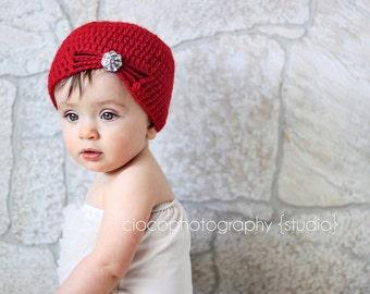 Crochet Pattern - Flapper Hat Crochet Pattern