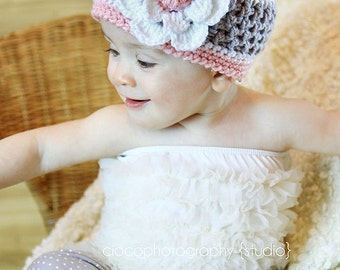 Hard Candy Beanie - Instant Download Crochet Pattern