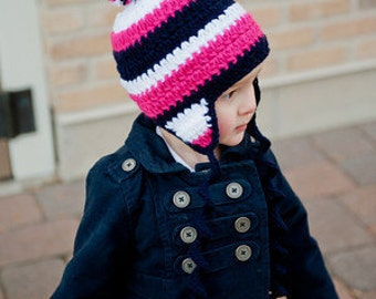 Crochet Pattern - Basic Beanie Crochet Pattern with lots of customizable options for all ages
