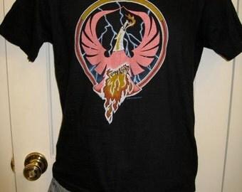 Vintage 1980 Rossington Collins 80s Rock Band Pheonix T-shirt size Medium