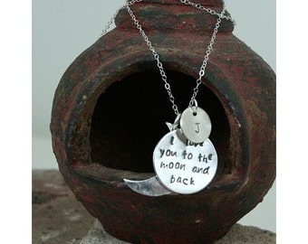 I Love You To The Moon Necklace