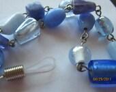 Blue Tones Glasses Chain