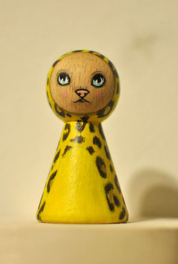 Bibo. original handpainted wooden artdoll