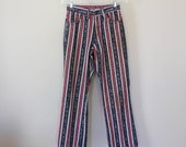 70s Vintage Red White and Blue Levi's Jeans - 26 x 28