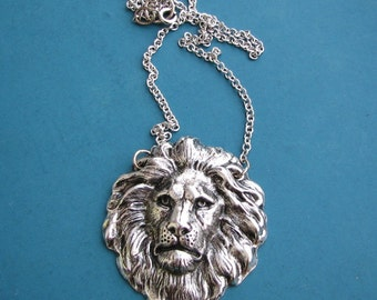 lion necklace - it just takes a little courage