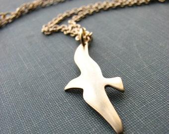 seagull necklace - jonathan livingston I presume