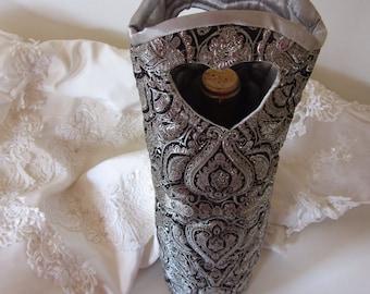 Wedding Bridal Wine Bag Formal Coctails Gift Bag Gift under 25
