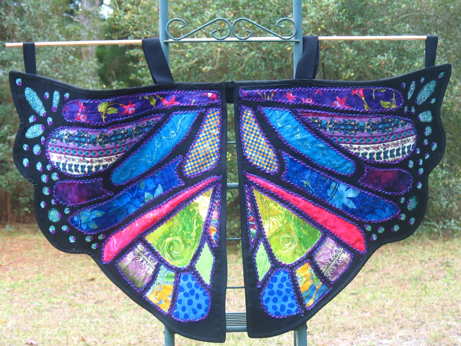 Dress Up Butterfly Or Dragon Wings Children's Play And