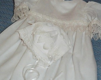 Custom Made Baptismal or Christening Gowns