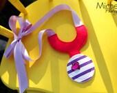 Doc McStuffins inspired Ribbon Necklace Dress up Stethoscope
