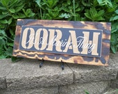 Wood Sign, US Marines sign, OORAH - It's A Marine Thing